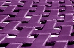 Part of metal construction pattern in purple tone. Abstract background and texture for design royalty free stock photography