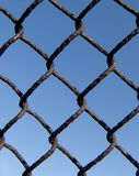 Part of the metal mesh Royalty Free Stock Photo