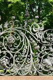 Part of Mikhailovsky (Michael) garden fence (1907) Royalty Free Stock Image