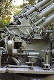 Part of military cannon Royalty Free Stock Image