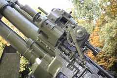 Part of Military cannon Stock Image