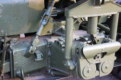 Part of Military cannon Stock Photography
