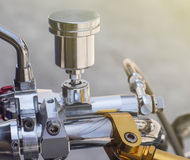 a part of mini motorcycle stock photo