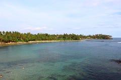 Part of Mirissa beach, Sri Lanka Stock Photography