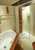 Part of modern bathroom Royalty Free Stock Photos