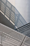 Part of modern building and shadow mapping Royalty Free Stock Image