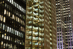 Part of Modern Buildings in Toronto Royalty Free Stock Images