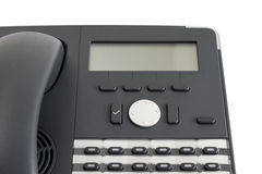 Part of modern business phone Royalty Free Stock Photos