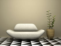 Part of the modern interior Stock Photography