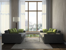 Part of the modern living-room Stock Image