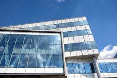 Part of modern office building Royalty Free Stock Images