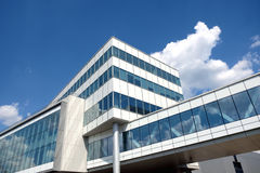 Part of modern office building Stock Photo