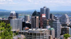 Part of Montreal Stock Photo