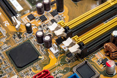 Part of motherboard Stock Images