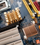 Part motherboard's Royalty Free Stock Photos