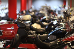 Part of motorcycle Royalty Free Stock Photography