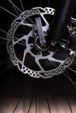 Part of Mountain Bike brake dis Royalty Free Stock Images