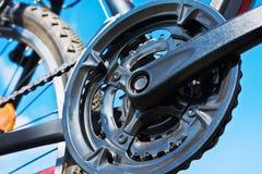 Part of Mountain Bike brake disc Stock Images