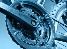 Part of Mountain Bike brake disc Stock Photo