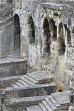 Part of Nîmes Amphitheatre, France Royalty Free Stock Image