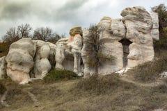 Part of the natural landmark `Stone Wedding`. stock photo