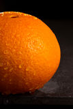 Part of  Navel orange Royalty Free Stock Images