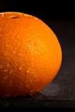 Part of  Navel orange Royalty Free Stock Images