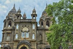 Part of The New Palace!. A part of the great giant monument is a mark of great history. New Palace, Kolhapur is a palace situated in Kolhapur, in the Indian Royalty Free Stock Image