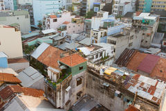 Part of the non commercial skyline of Ho Chi Minh City (Saigon) Stock Image
