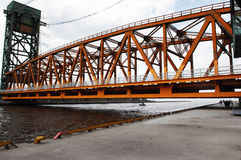Part Of Lift Bridge. Stock Image
