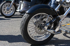 Part Of Motorcycle Royalty Free Stock Images