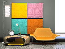 Free Part Of The Unusual Interior Royalty Free Stock Image - 16774216