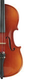 Part Of Violin Royalty Free Stock Photography