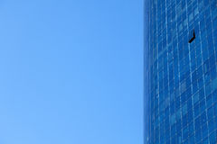 Curtain Wall & Sky Royalty Free Stock Photos
