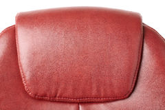 Part of Office chair over isolated white background Royalty Free Stock Photos