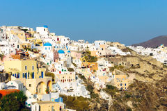 Part of Oia, Santorini Stock Photography