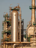 Part of an oil refinery Royalty Free Stock Photos