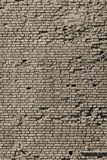 Part of an old beige brick wall Stock Image