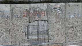Part of the old Berlin Wall Royalty Free Stock Photo