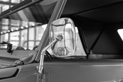 The part of an old car in retro style.  Stock Images