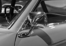 The part of an old car in retro style.  Royalty Free Stock Images