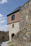 Part of Old Castle Stock Photo