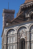 Part of an old church. In Florence Stock Photography