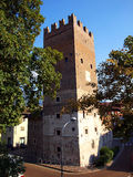 Part of the old city of Trento, Italy Royalty Free Stock Photo