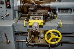 Part of old lathe Royalty Free Stock Images