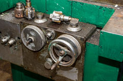 Part of old lathe Stock Photos