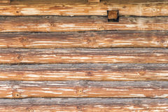 Part of the old log building construction Royalty Free Stock Image