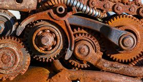 Part of the old mechanism Royalty Free Stock Photography