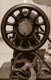 Part of old metal sewing machine Royalty Free Stock Photography