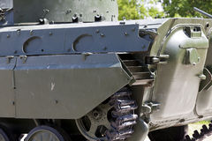 Part of the old military equipment Stock Photography